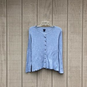 Polo Jeans powder periwinkle blue cardigan, XL